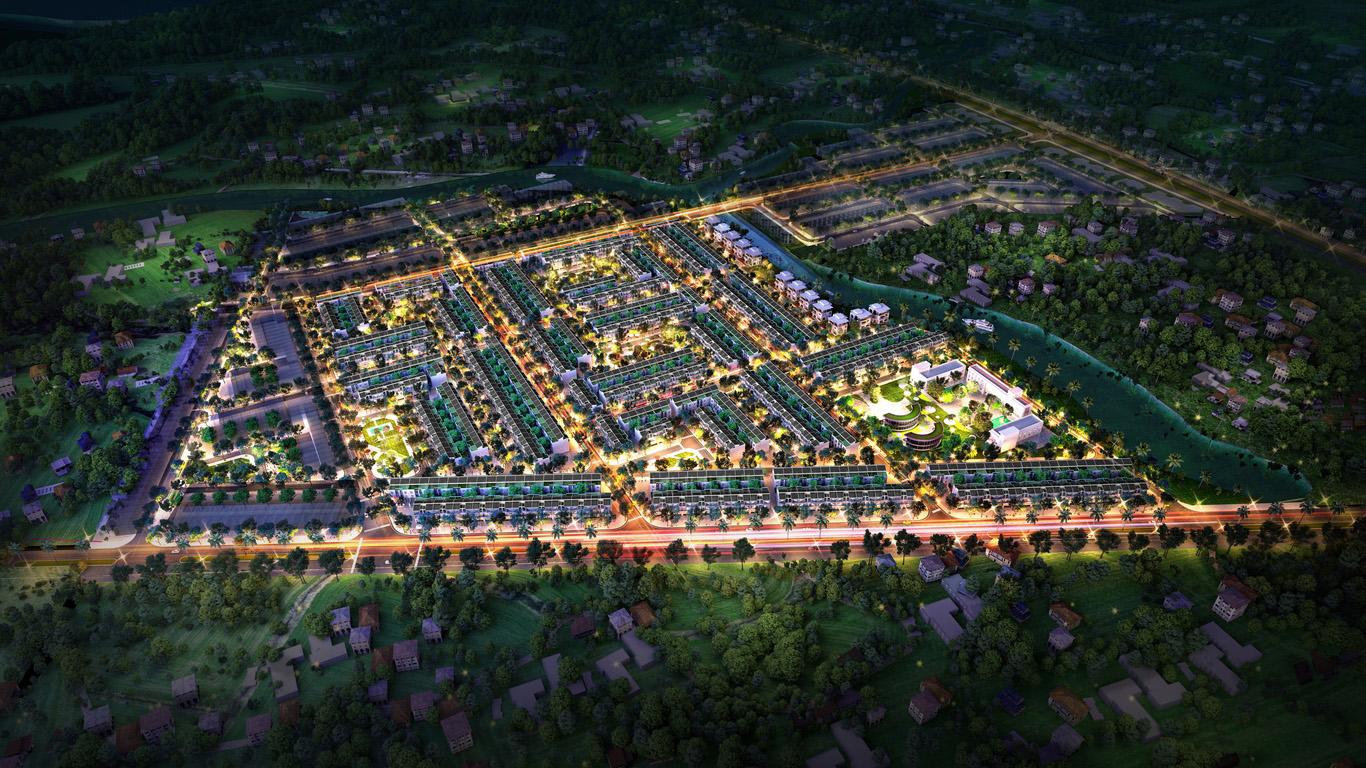 Dự án T&T Millennia City Cần Giuộc đơn giản sinh động sống trong lành