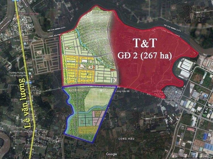 Dự án đất nền nhà phố và biệt thự T&T Millennia City Cần Giuộc thoải mái tối đa trục đường chính