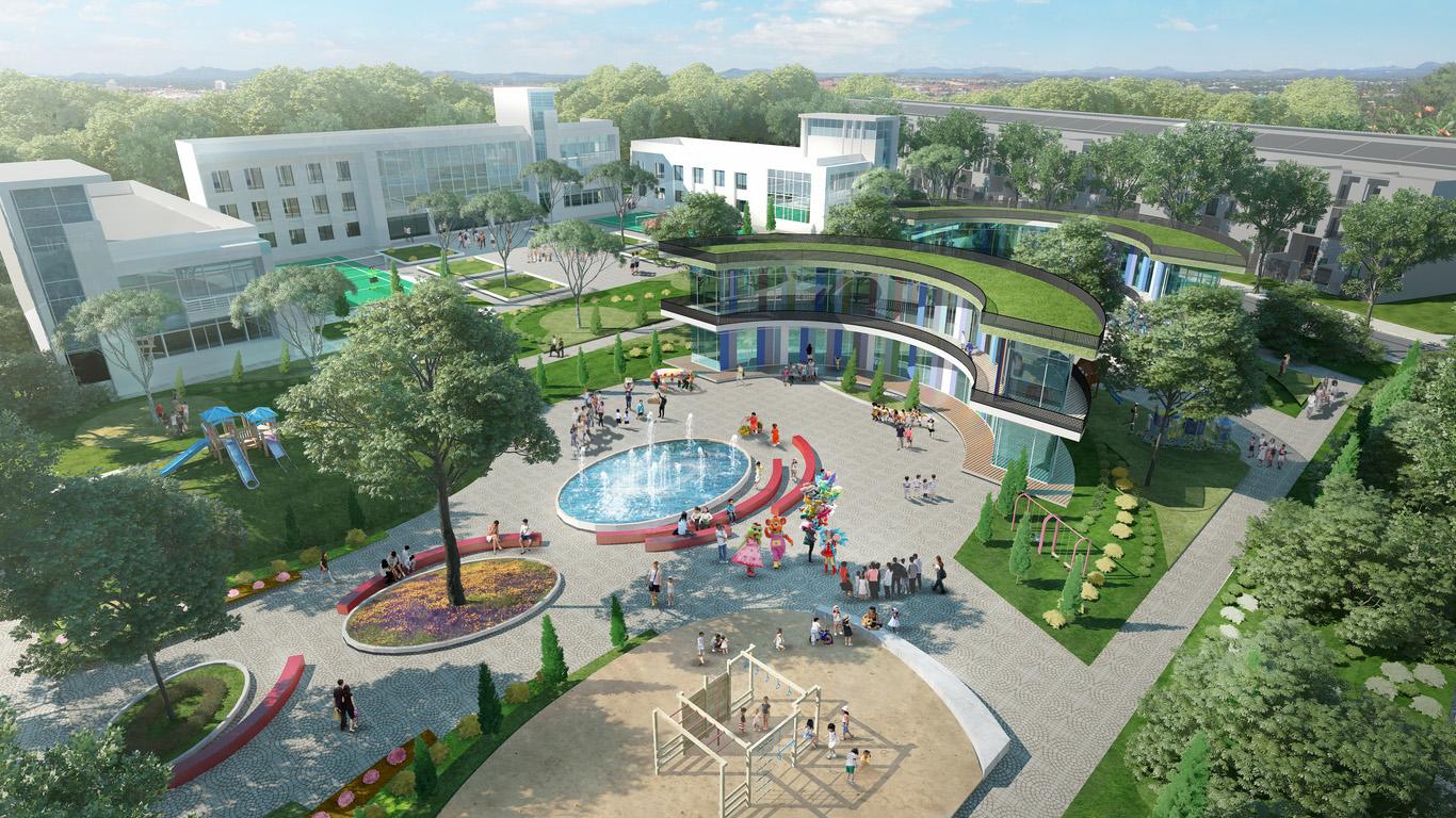 Khu dự án T&T Millennia City vị trí đẹp